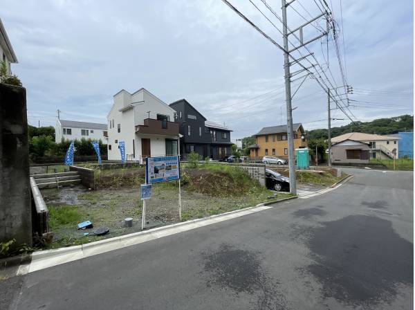 神奈川県藤沢市大庭の土地