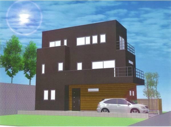 神奈川県鎌倉市西鎌倉4丁目の新築戸建