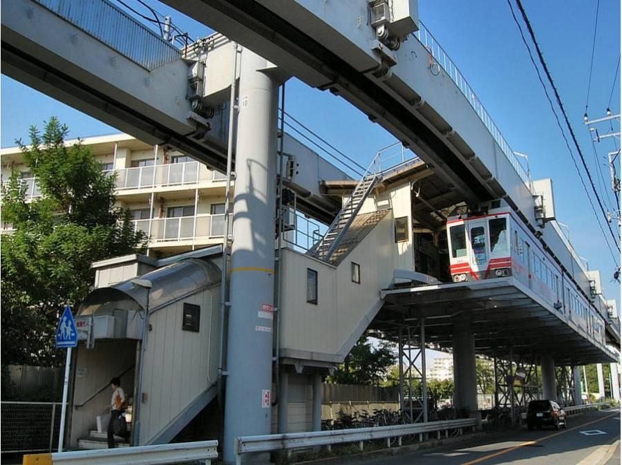 湘南深沢駅までは平坦路で徒歩9分