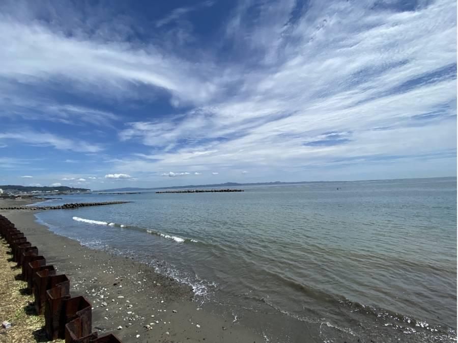 目の前の海でいろいろと楽しめそうです。