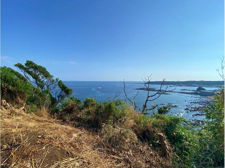 城ヶ島から東側。