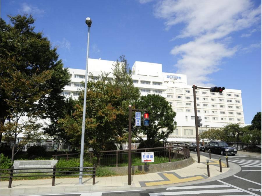 藤沢市民病院。小児科が有名らしいです(約1.2km、徒歩16分)