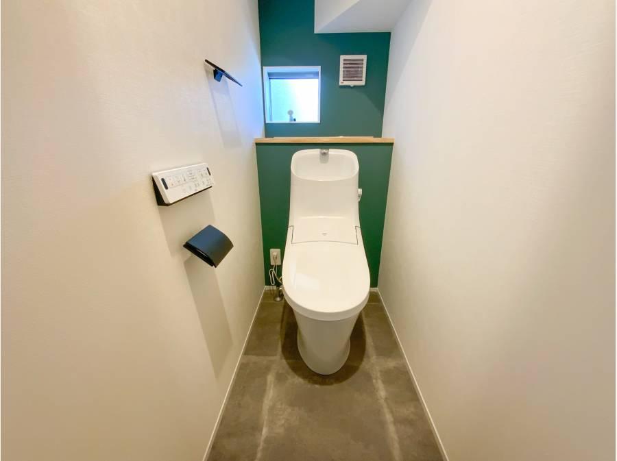 トイレもオシャレです