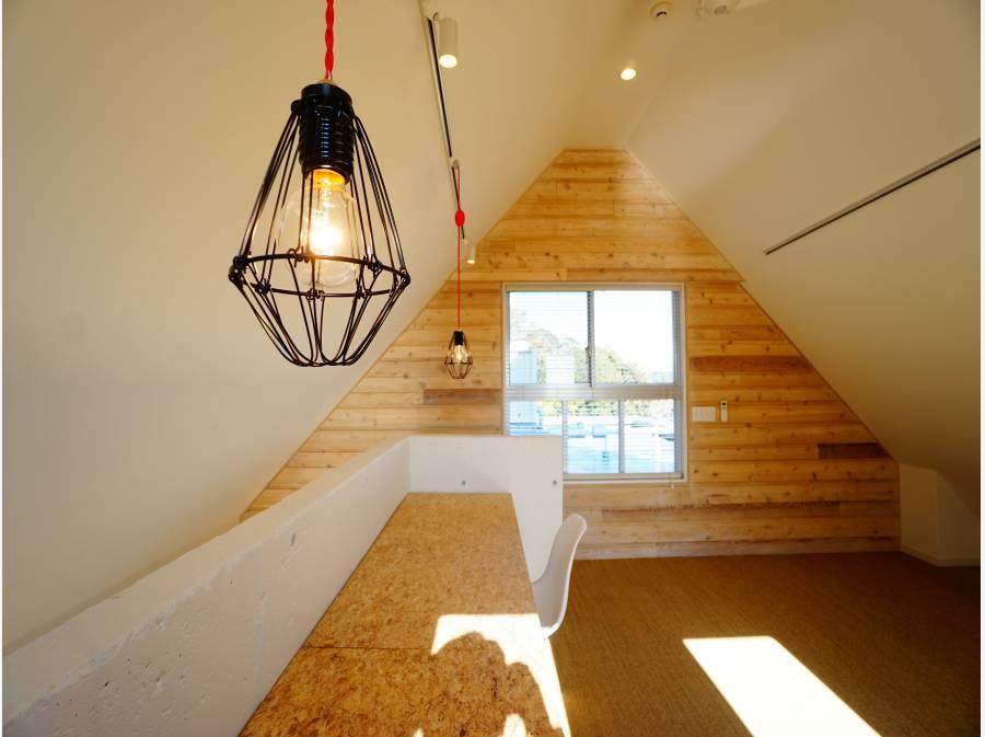 天井にシーリングファンが付いているため、風通りも良好。