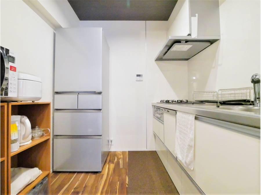 清潔感溢れるキッチンスペースです!