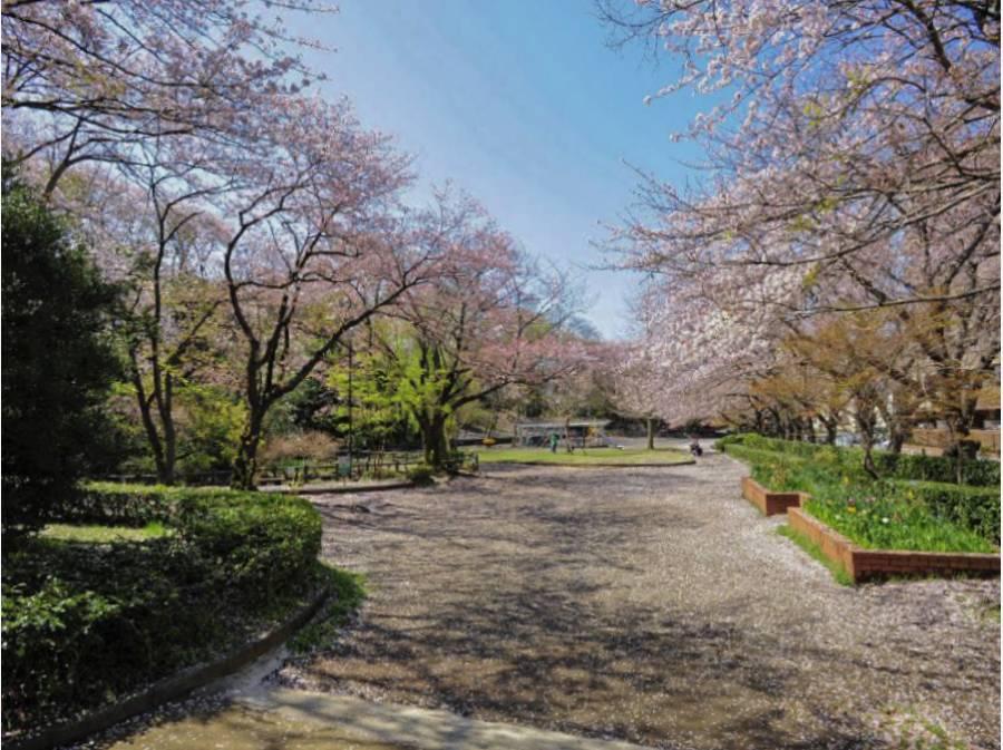 春には桜のスポットとなる「御幣公園」まで徒歩4分(約300m)