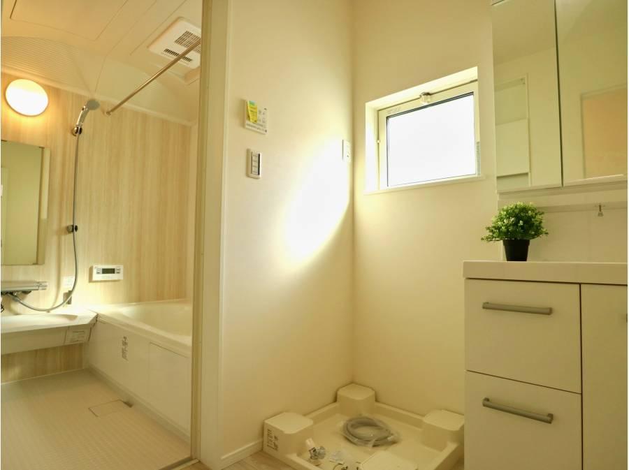 サニタリースペースと浴室