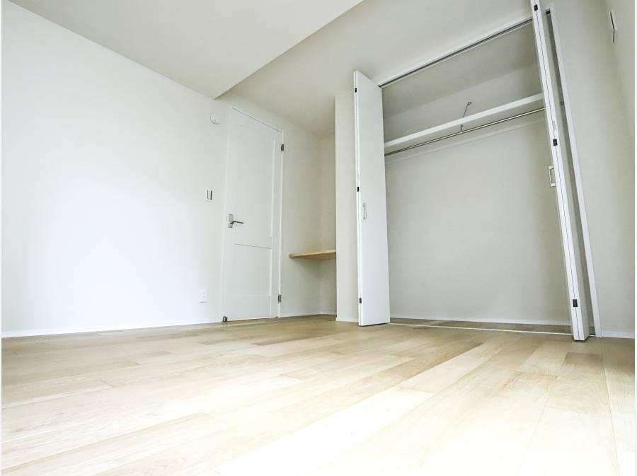 寝室も各部屋6帖以上のゆとりある間取りです