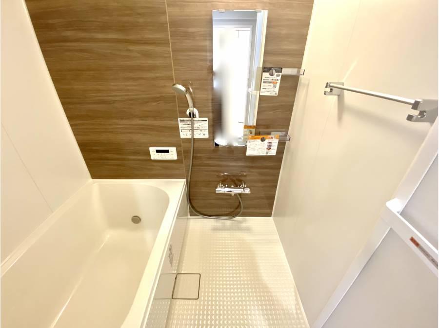 バスルーム 新規交換済