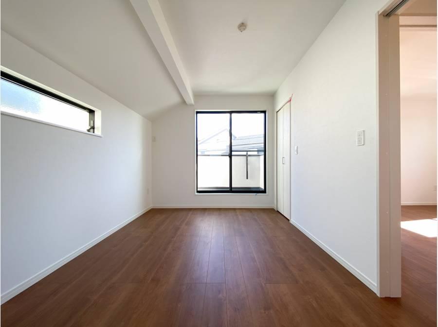 収納もたっぷりで使いやすい居室です