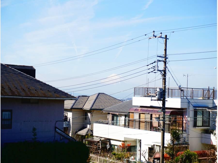 富士山を望む眺望!