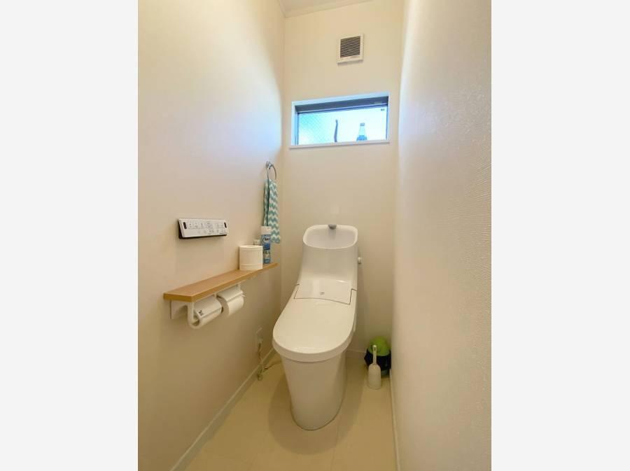 2ヶ所あるトイレもきれいな状態でした。