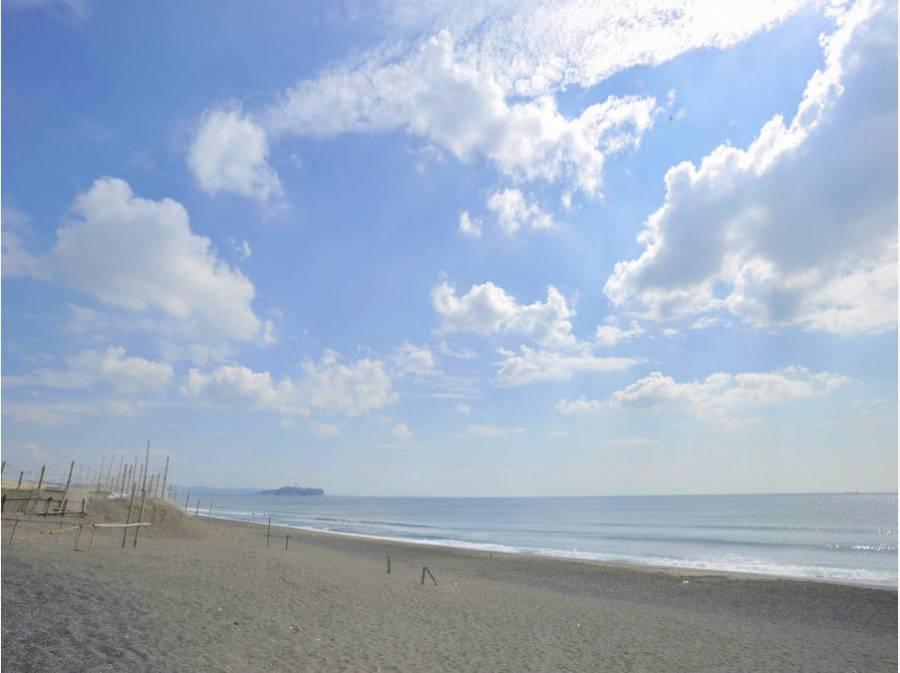 海岸線 小和田浜 約1700m