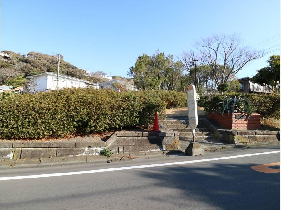 七里ヶ浜東つつじ公園前のバス停『アカシア並木』バス停まで約240M