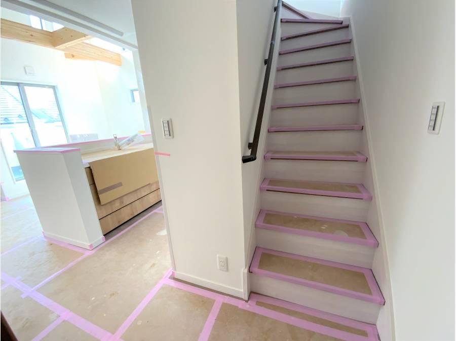固定階段で行けるロフト