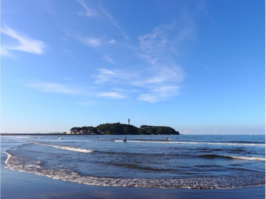 海岸まで歩いて3分(約200m)