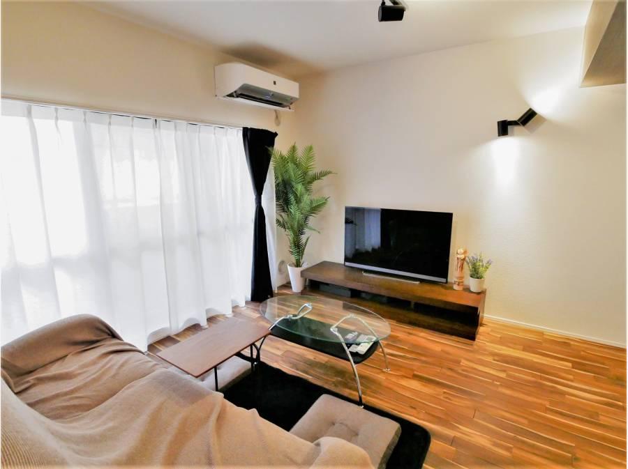 大きい家具を置いても十分なスペースが確保されます!