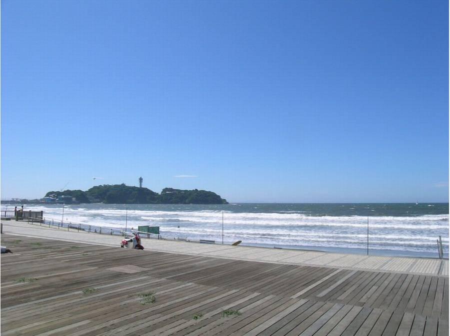 海までは約1.8㎞ 道のりは平坦ですので自転車で☆