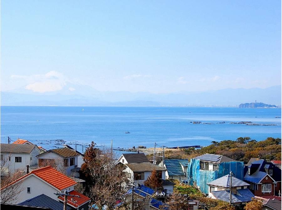 下山口エリアからの相模湾の眺望 イメージ