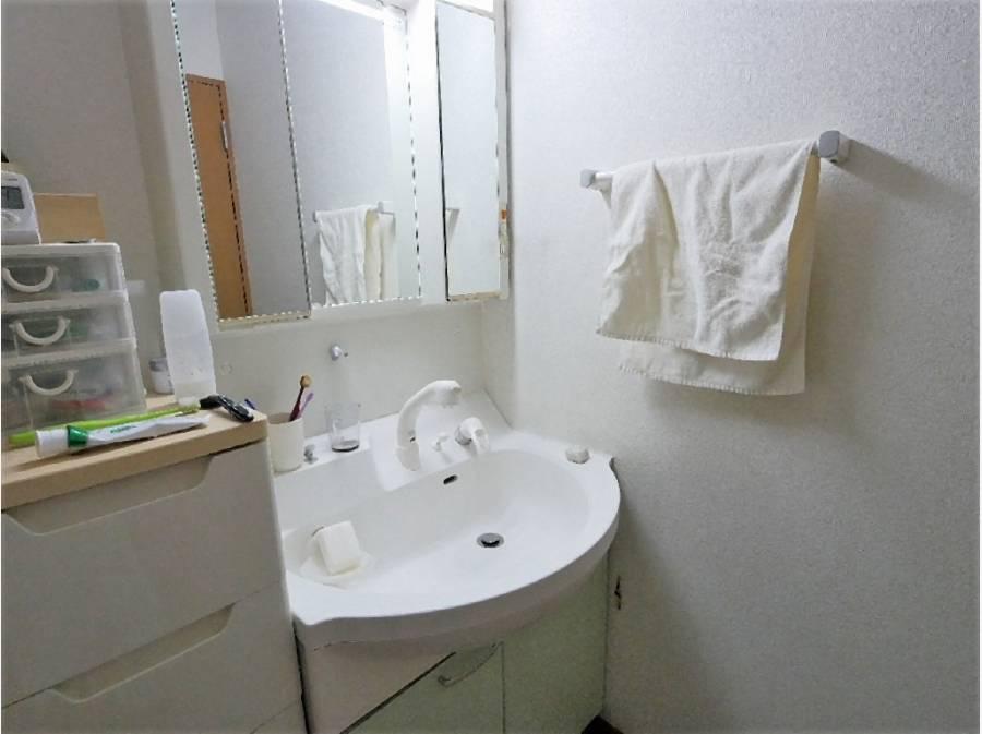 洗面スペースもゆったり