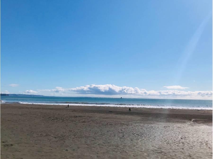 天気の良い日には海まで散歩♪