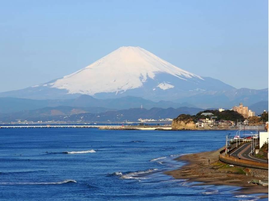 天気の良い日は富士山がきれいに見えますよ