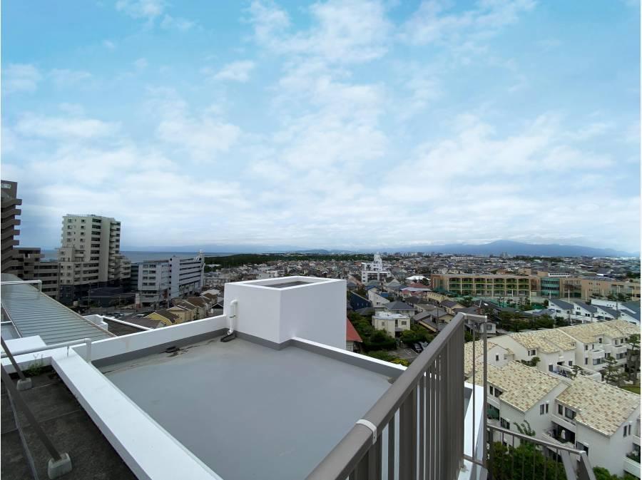 屋上からの眺望(山側)