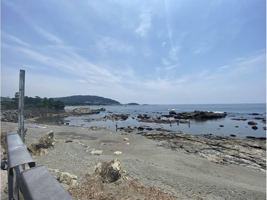 海まで徒歩1分(約80m)