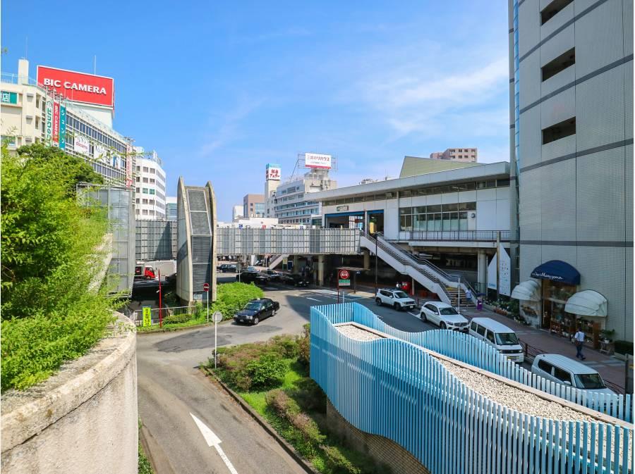 藤沢駅まで自転車で約10分
