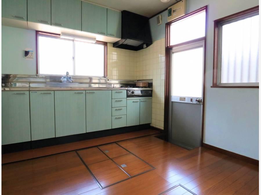 昭和レトロなキッチン