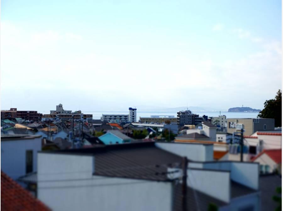 海・江ノ島・富士山を望む!