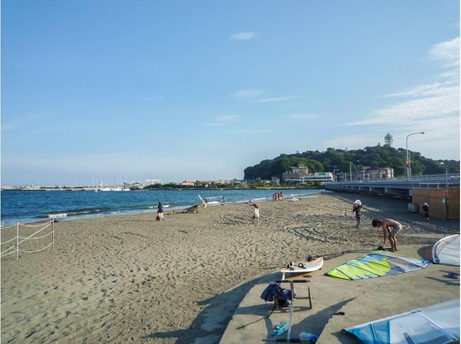 海までは約1.7㎞ 休日や時間の空いた時に行ける距離感