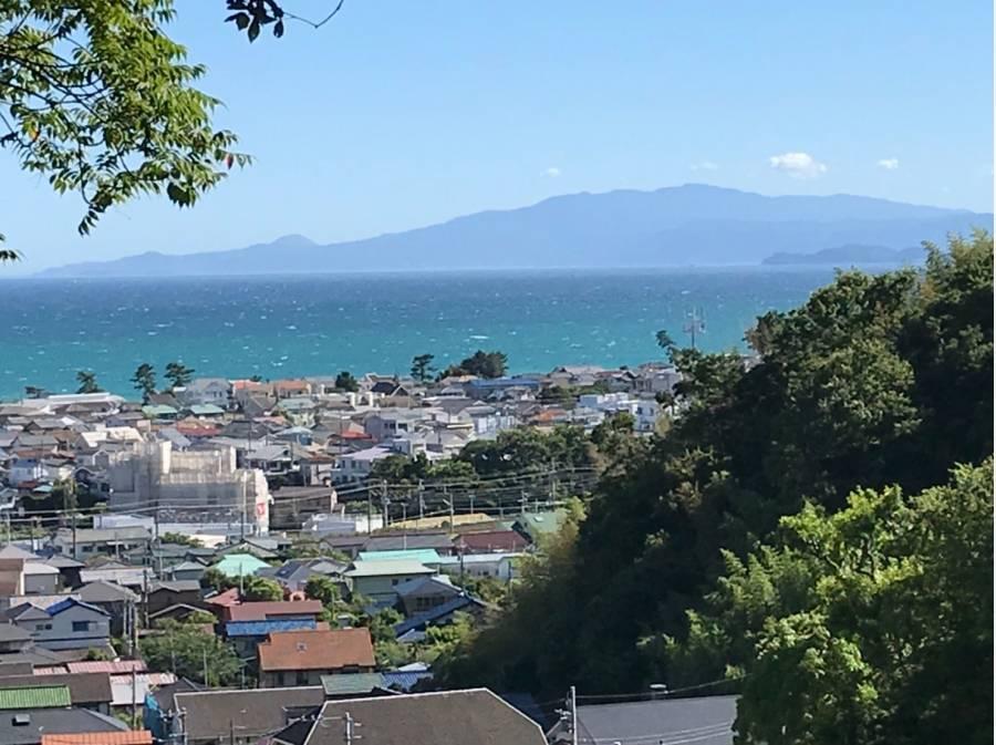 伊豆半島を望む素晴らしい海眺望です!!