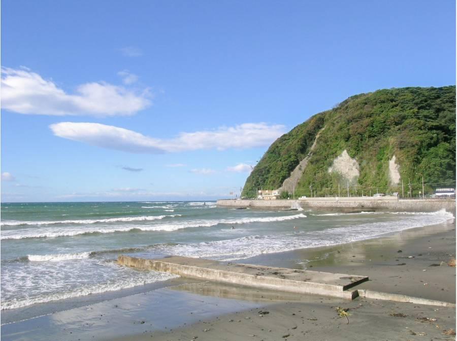 逗子海岸までは約4.1キロ