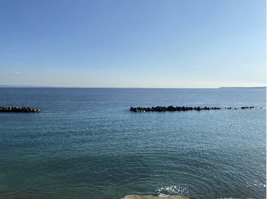 毎日海が見えます。