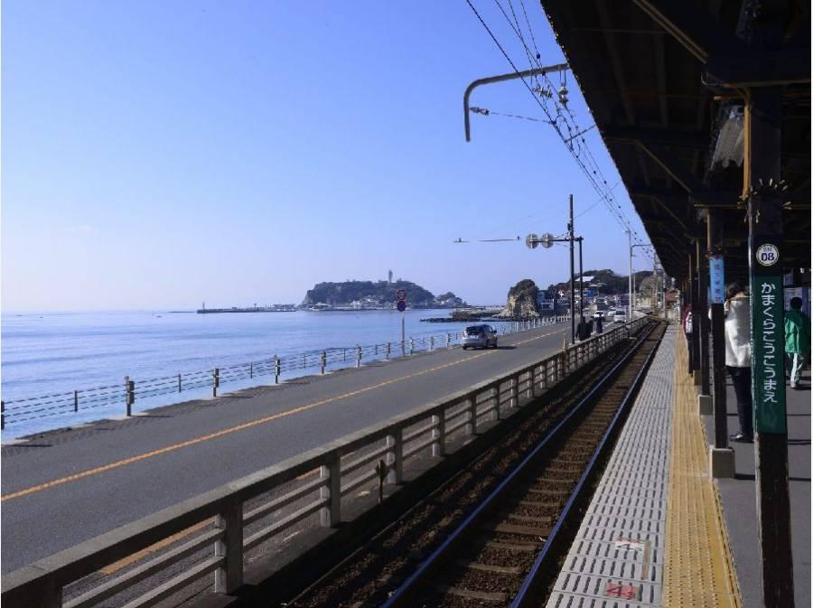 この駅からの出勤。爽やかな気持ちで一日が始まりそうです。