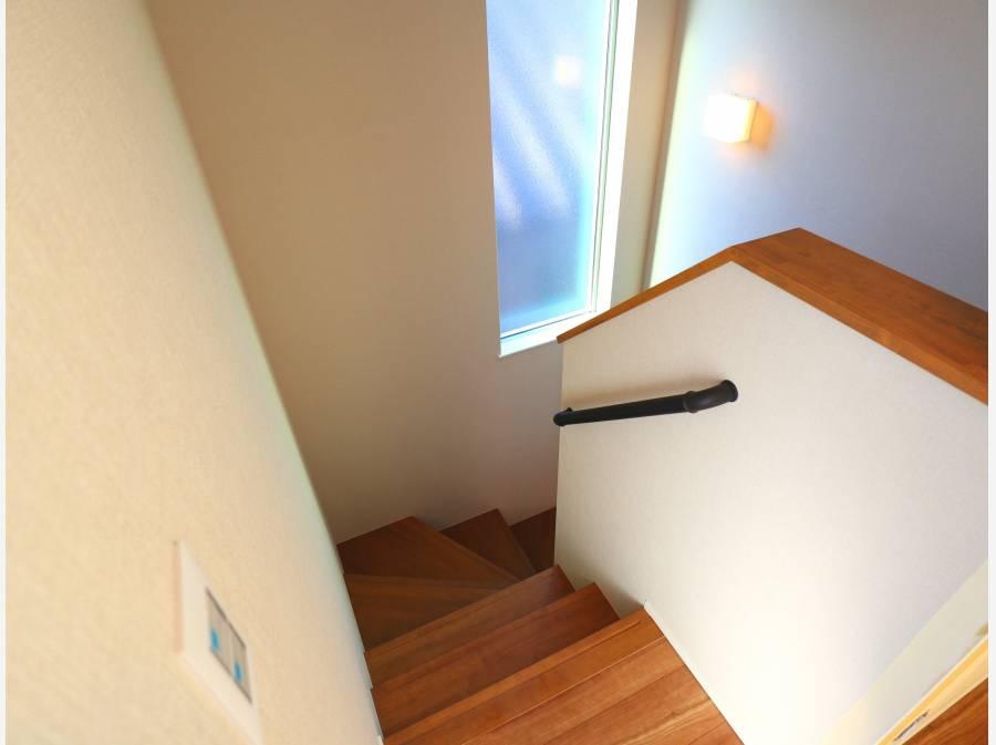 スカイバルコニーへの階段