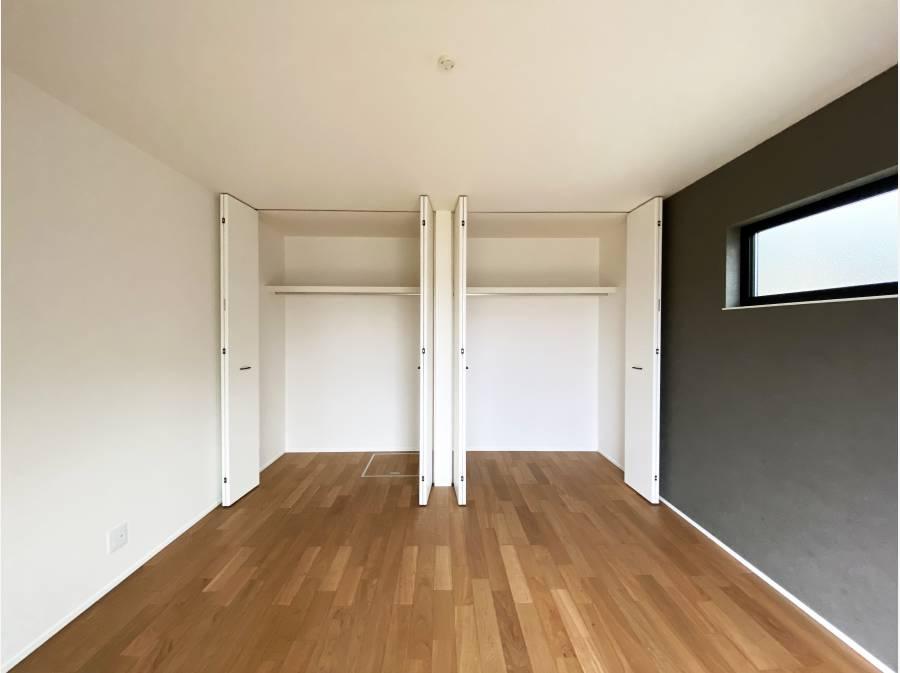 8帖のゆとりあるサイズの居室
