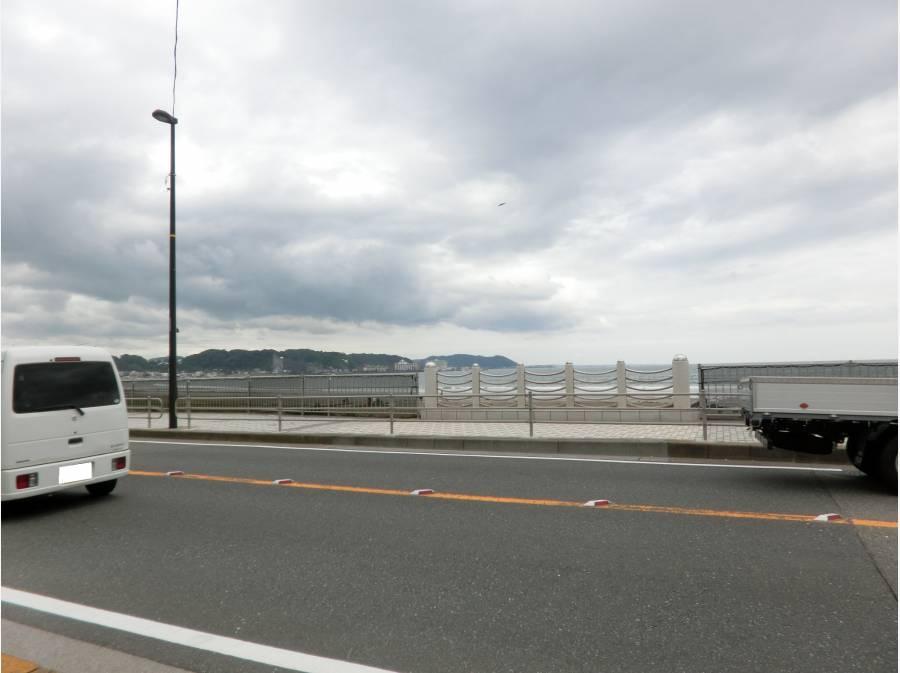海岸線まで約160M 徒歩2分です