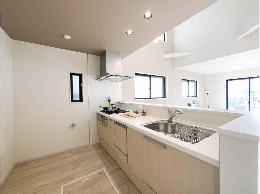 食洗器・浄水機能付きのシステムキッチン