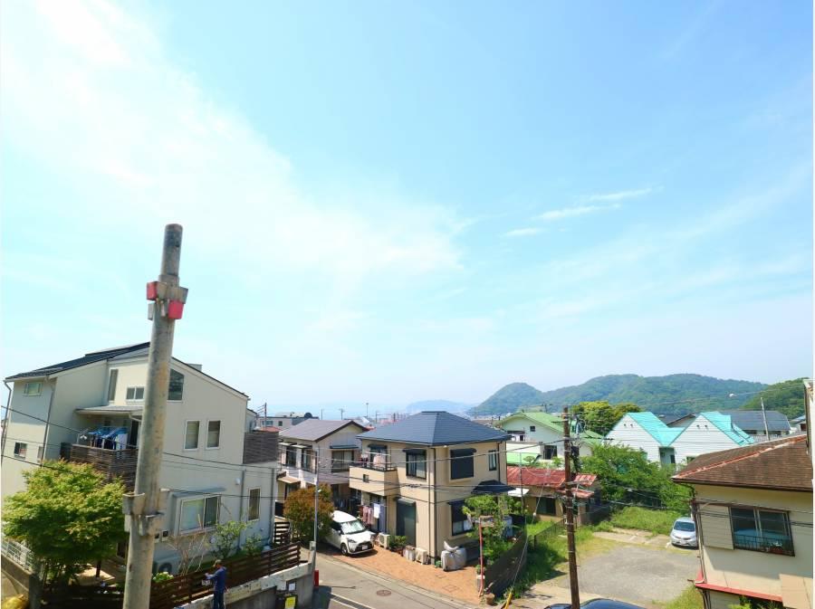 海!江の島!そして富士山を望みます