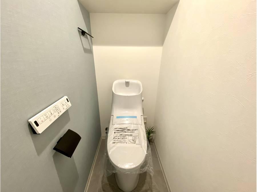 トイレも新規交換済