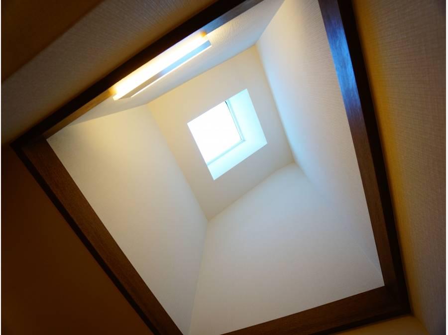 天窓が付いております!