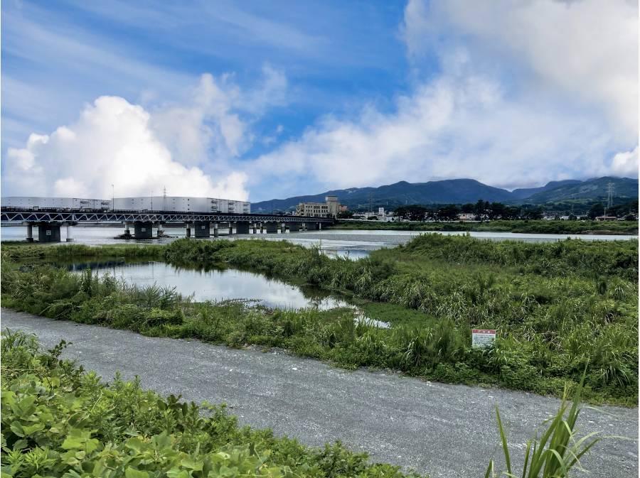 酒匂川まで徒歩8分(約600m)日々の散歩道として♪この景色☆