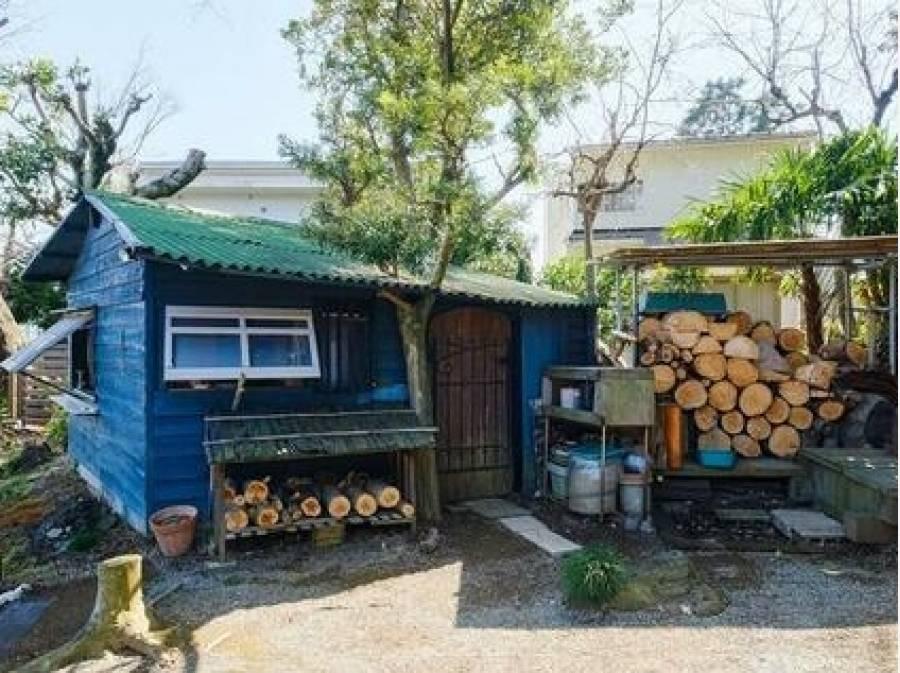 暖炉に必要な薪スペース