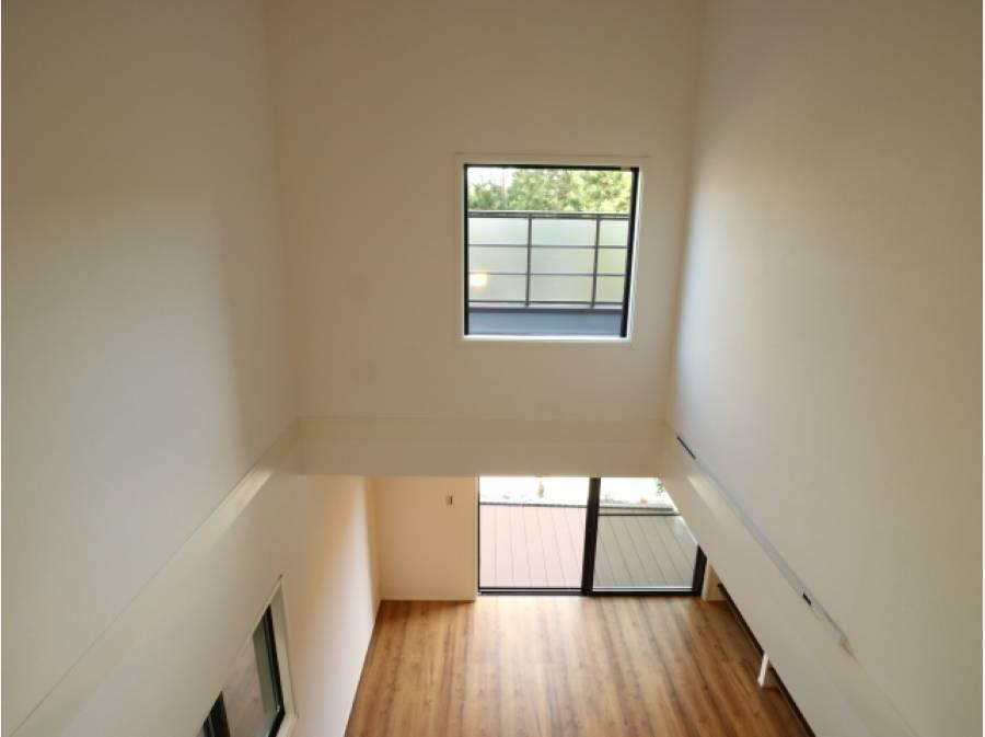 同社施工(建築イメージ)空間をうまく活かした家造り