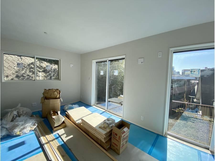 1階の居室も太陽の光がしっかりと入ります。