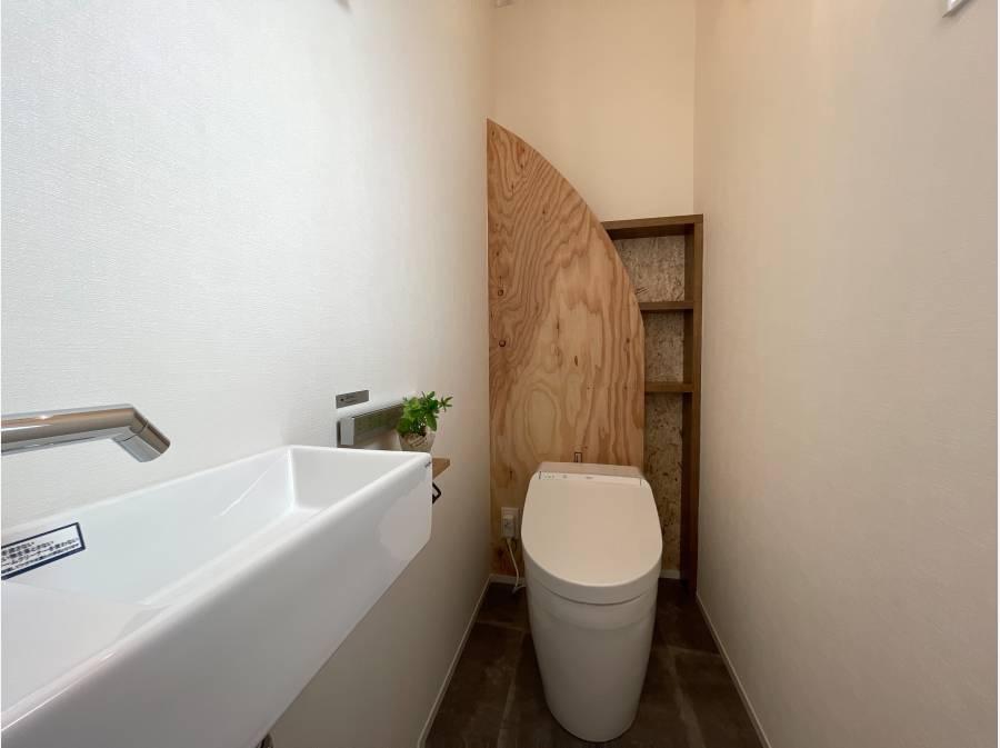 タンクレストイレを完備