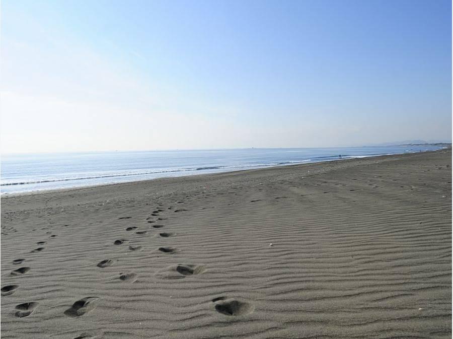 海までは約1㎞ お散歩コースに最適♪