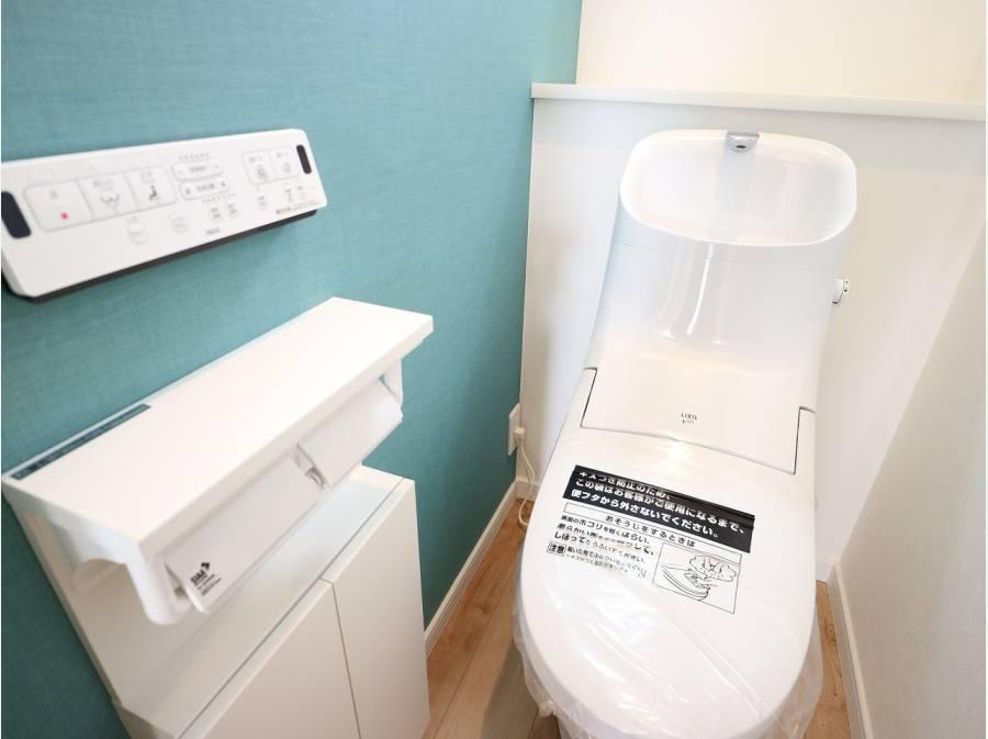 充実機能のトイレ